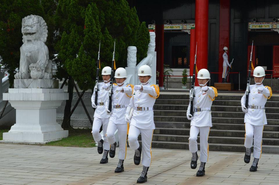 【忠烈祠】台北で一番有名な衛兵交代式(台湾、台北市)