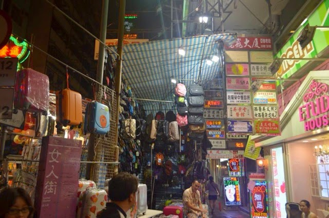 香港 女人街 Tung Choi Street,Hong kong