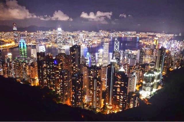 香港 ビクトリアピーク Victria Peak,Hong kong
