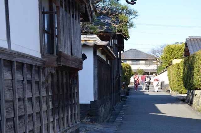 萩 萩城城下町 the castle town of Hagi