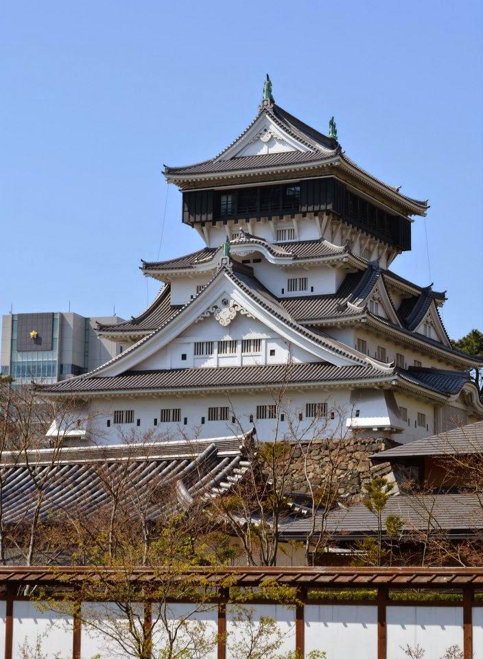 北九州 小倉城  Kokura castle, Kitakyushu