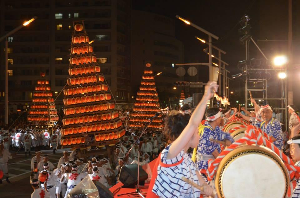 北九州市の夏まつり、祇園、花火大会一覧