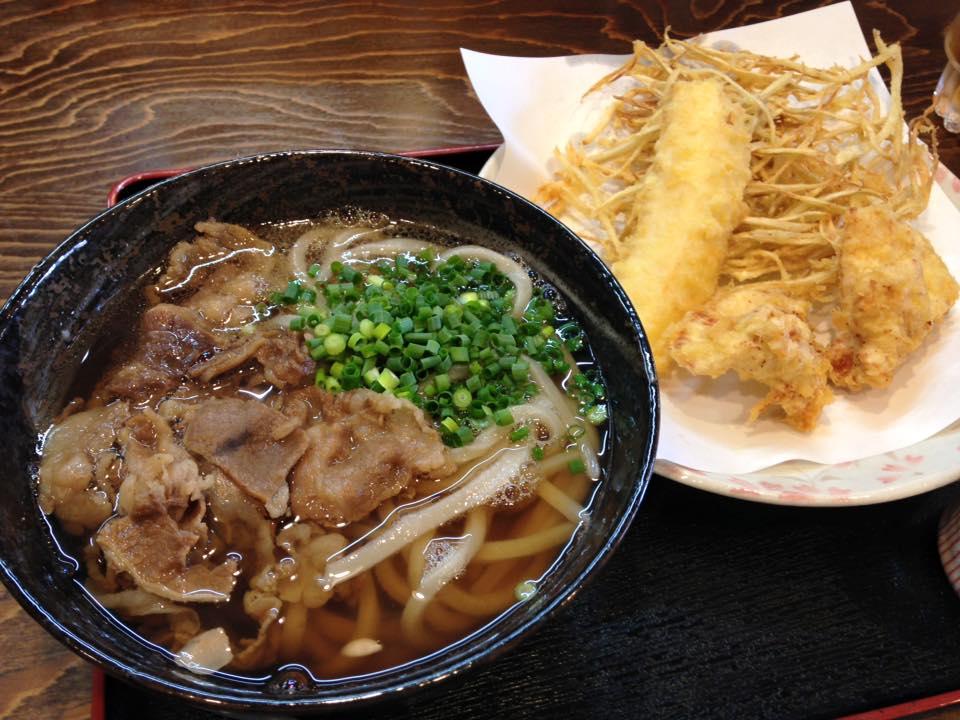 【小倉うどん竜屋】独特なコシのある麺が美味しい(北九州市小倉北区)