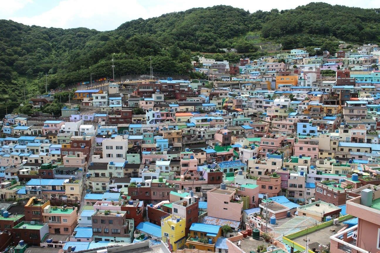 【甘川洞文化村】韓国のマチュピチュと呼ばれるカラフルなアート村(韓国、釜山)