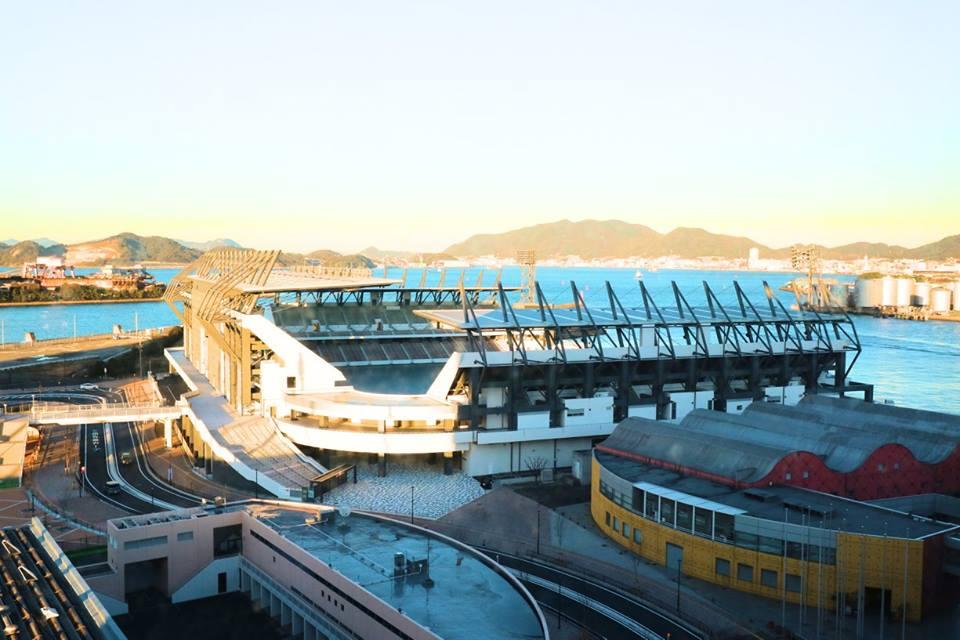 JR小倉駅から北九州スタジアム(ミクニワールドスタジアム北九州)への行き方、歩き方(北九州市小倉北区)