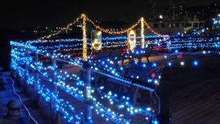 【若松イルミネーション】独特の点灯式(北九州市若松区)