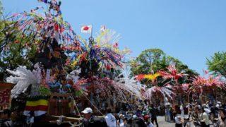 【曽根の神幸祭】三変化する華やかな山車(北九州市小倉南区)