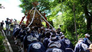 【大蔵祇園】御神輿による伝統的な御神幸(北九州市八幡東区)