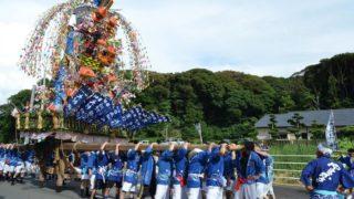 【竹並祇園】北九州一の高さを誇る人形飾り山笠(北九州市若松区)