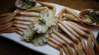 ズワイガニが有名なウルチンでカニ料理を頂く(韓国蔚珍郡)